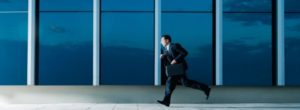 Late for a meeting, The Leader's Digest by Suzi McAlpine
