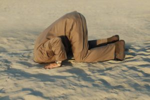 Self doubt - don't bury your head in the sand, The Leader's Digest by Suzi McAlpine