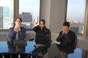 Ineffective meetings