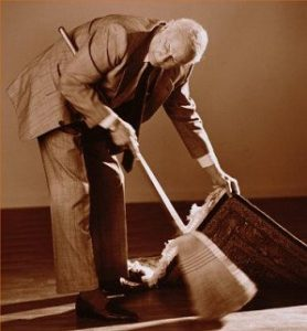 Sweeping problems under the carpet